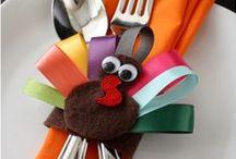 CELEBRATE HALLOWEEN AND THANKSGIVING / Fun things to do and to make for Halloween, and Thanksgiving