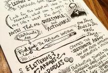 Sketchnotes / Sketchnotes, Visual Thinking, Visual Note-Taking, Live Recording & Visual Facilitation