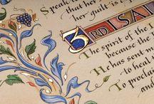 Calligraphy, Handwriting & Illumination