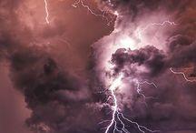 Thunderstorm, Lightning & Rain