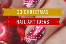 Christmas Nail Art Ideas / Christmas is the most wonderful time of the year – not just for us but also for our nails!