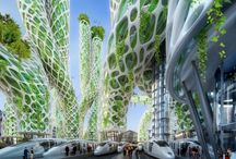 Utopia / Technology, architecture and design from in a bright future.
