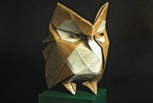 Origami / Origami is the art of paper folding.