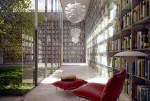 Interior (Libraries & Bookshelves)