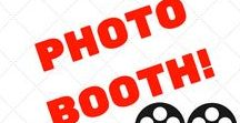 Baby Shower Photo Booth / Get your baby shower photo booth ready for all your guests. They're going to want to take baby shower pictures for their social media. It's really easy to create a cute baby shower photo booth.