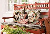 How to Feather Your Nest / From house to Home*Sweet*Home... / by Mrs. Combs