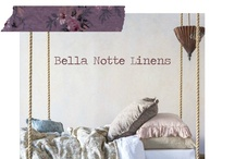 Bella Notte / Bella Notte has an absolutely gorgeous collection of fabrics and linens. The styling used in the add campaign is excellent. I would gladly welcome them into my home.