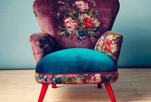 les CHAIRS / There was a time when I dreamed of starting my own biz:  http://chairsbyrachel.blogspot.com/
