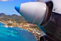 Around the Caribbean  - By air / Aerial shots and views of the Caribbean / by itzcaribbean Travel