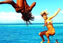 Jump in... / Our favourite 'Jumping in the Sea' pics from around Pinterest. / by itzcaribbean Travel