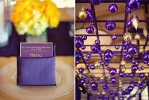 Purple and Yellow DIY Budget Wedding / by Jennifer
