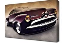 Canvas Art Shop Cars / Car canvas prints by The Canvas Art Shop. Affordable car wall art.
