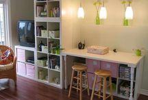 Craft Organization  / How to organize all my crazy crafty ways.  / by Ria Wicker