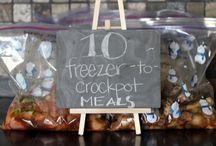 Freezer Food/Slow Cooker / by Jennifer