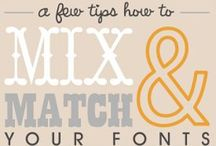 Just my type... / Fonts? / by Mrs. Combs