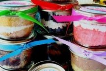 Food-To-Go / Easy ways to pre-make food and take it on the go. Picnic food. School lunches. Food in a jar... Food to go... Salads to go...  / by Ria Wicker