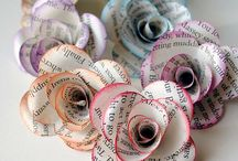 Paper / Crafts made from paper / by Ria Wicker