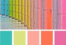 inspiration COLOR / being inspired by color and color combinations. use these color combinations in your art journals, scrapbooking or mixed media projects.