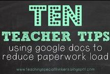 ICT bits and bobs / Google docs, iPads and Tablets