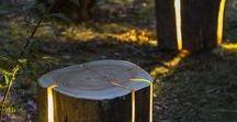 Licht im Garten / Ideen für Gartenbeleuchtung