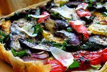 Good Eats~Quiche, Tarts, Savory Pies, Etc / by Cynthia