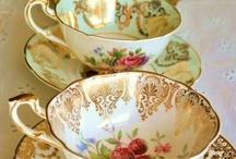teacups and parties / by Tina Hansen