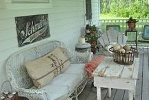 Southern Porches / Join us on the porch and we can figure everything out