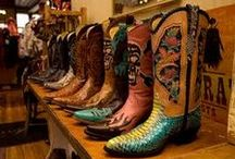 Cowboy Boots...you don't have to wear em to eat corn bread / but, if you've got em...Cowboy Up!