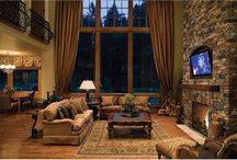 Fireplace Design Ideas / Luxury gas fireplaces in amazing settings