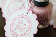 BABY SHOWER / Dekoration und DIY-Ideen für die Baby Shower, auch Baby Party genannt!
