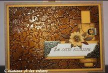 Carte - Faux cuir / Créations Technique faux-cuir