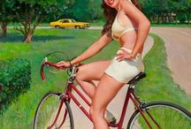 Vélo Pin-up