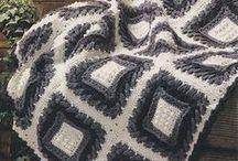 Вязание. Пледы, подушки
