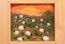 The Felting Lounge / A board for needle felters to showcase their work. If you would like to contribute please message me at facebook.com/thefeltinglounge