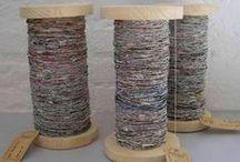 Fiber Art/Textiles / Fiber Art made with wool