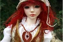 BJD  clothes / Original creative clothes for BJD dolls created by my hands