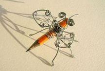 wire jewelry/art