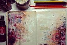 Recherche Art Journal / Inspiration de journal d'artiste diverses