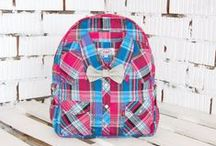 Shirt Backpacks / Unique backpacks made of shirts and jeans