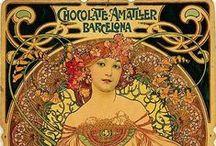 Alfons Maria Mucha / Art Nouveau Movement Artist (1860-1939)