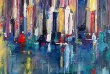 Frank Punshon Artworks / Oil on canvas