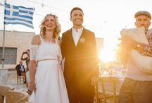 Anafi island wedding / Greek wedding, minimal style, wedding planning, wedding stationery, wedding decoration, destination wedding, Greece, wedding party, simple wedding ideas, Cyclades, village square wedding party,