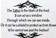 tattoos / by Mercedes Fisher-Mercado