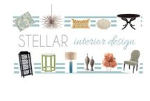 STELLAR Design Boards / Interior Design Boards, online interior design, e- design,