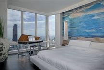 Bedroom Design / This is a board of beautiful bedrooms, meant to inspire you when you start up your next home improvement project. Some of the pictures in this board are examples of painting work that MB Jessee performed on homes in San Francisco and the Bay Area.
