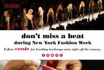New York Fashion Week  / pins coming from behind the scenes in New York Fashion Week. Get the hottest looks for your nails.