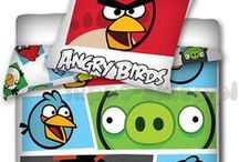 Angry Birds kids bedding and home textile collection | Kolekcja Angry Birds / Angry Birds kids bedding collection with characters from Angry Birds Space, Star Wars, Rio 2, Go! Stella mobile game.