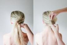 Hairstyle How-tos / Hair Tutorials