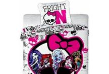 Monster High bedding set collection / Monster High bedding set collection with Draculaura | Kolekcja pościeli Monster High z postacią Draculaury