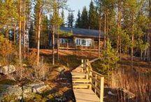 Ankkuri, Mikkeli / Ankkuri on joulukuussa 2013 valmistunut omarantainen Polarhousen lämpöhirsitalo, kauniisti ympäristöön sopivia ja sisustettu laadukkaasti skandinaaviseen tyyliin. 4+2 henkilöä, 78m2, 2mh, Mikkeliin 17km, Saarijärvi